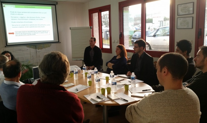 Morning meeting of the 16/12/2015 at Bourgoin-Jallieu