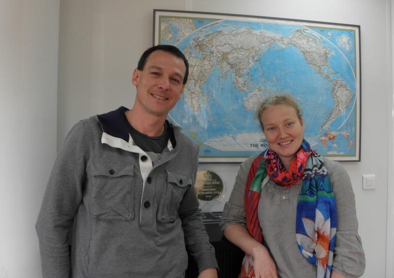Gaël Plassart et Anne-Gaëlle Dazzi